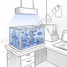 """Светильник мультиспектральный для морского аквариума """"Чалаван"""" 120Вт с яркостью 24.000 люкс"""