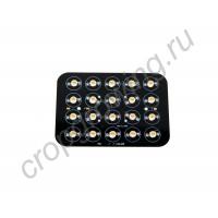Светодиодная прямоугольная сборка для фитосветильников мощностью 36-60Вт