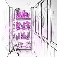 """Фитопрожектор для теплиц, домашних флорариумов, оранжерей """"Авиор"""", с активным охлаждением фитодиода"""
